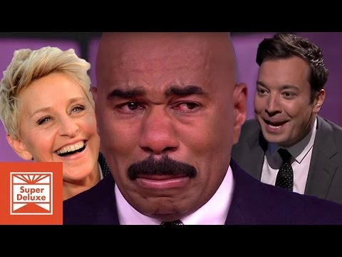 Family Feud Funniest Moments // Steve Harvey lol moments!
