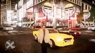 GTA IV New York Times Square with iCEnhancer 1.3.5 & custom settings