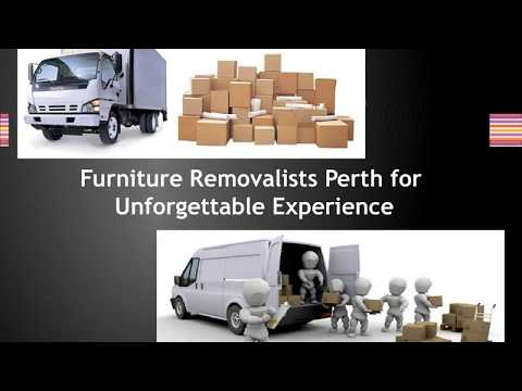 Furniture Removalists Perth | 1800 594 998 | Cheap Removalists In Perth