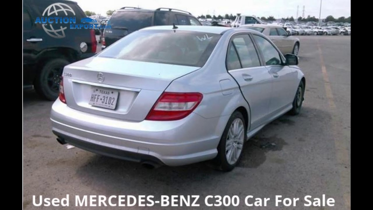 Export Car from USA to Bulgaria - Auction Export - 2009 MERCEDES ...