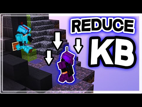 How To Take Less KNOCKBACK In Minecraft BedWars PvP