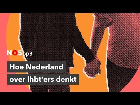 Hoe Nederlanders denken over lhbt'ers | NOS op 3