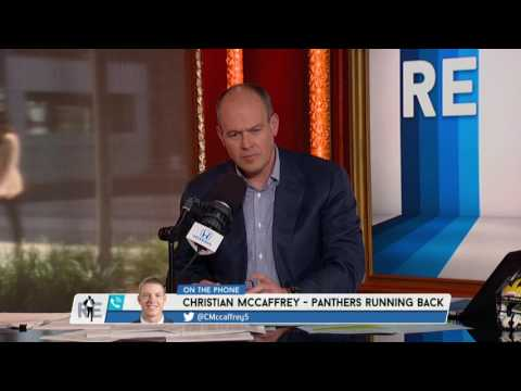 Carolina Panthers RB Christian McCaffrey on His Role With The Panthers - 5/11/17