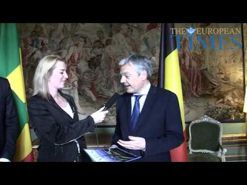 Interview | Didier Reynders | Minister of Foreign Affairs | Belgium