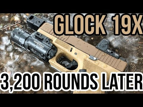 Glock 19X after 3200 Rounds   Roland Special X?