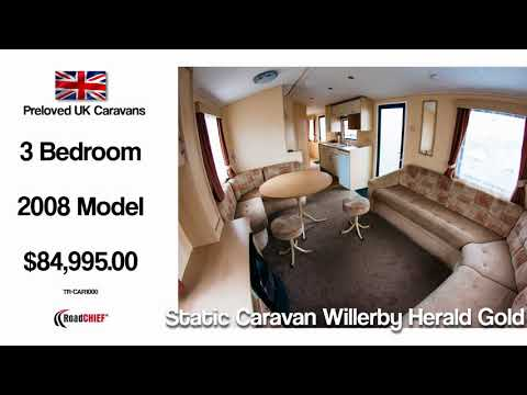 Road Chief - Static Caravan Willerby Herald Gold - Preloved