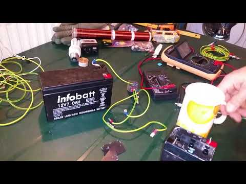 Radiant energy battery charger for any battery type PART 3