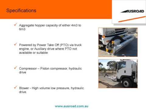 Ausroad Jetmaster Road Maintenance Unit