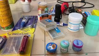 giới thiệu một số đồ nghề dành cho người tự học sửa chữa điện thoại tại nhà