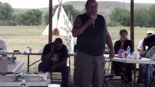 "James Swan!  Addressing the ""Great Sioux Nation"" Omniciya 7/21/2015"