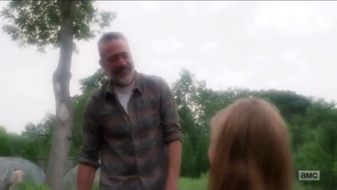 Negan & Judith Dream Sequence ~ The Walking Dead 8x09