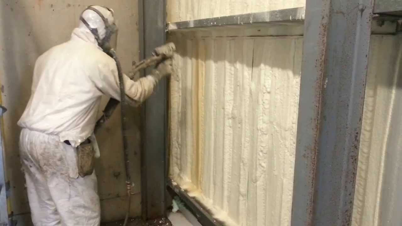 Spray Foam Insulation Shed Youtube