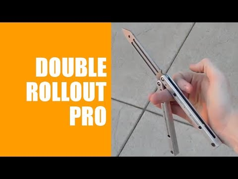 Balisong Tutorial - (Double Rollout Pro) - Advanced