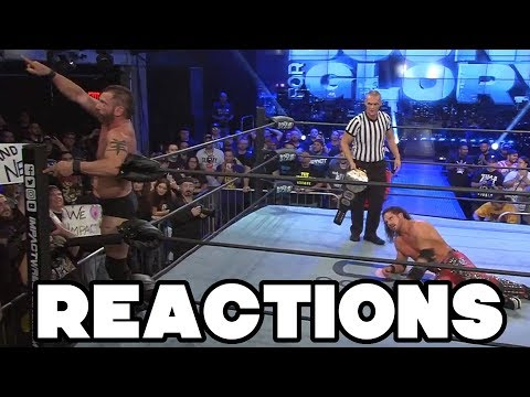 IMPACT Wrestling Bound For Glory 2018 Reactions