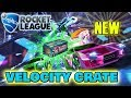 LIVE/ ROCKET LEAGUE/TRADING/OPENING 10 VELOCITY CRATES/PS4/GIVEAWAY AT 4K SUBS