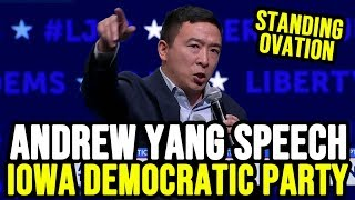 Andrew Yang's Fiery Speech at the Iowa Democratic Party Liberty and Justice Celebration
