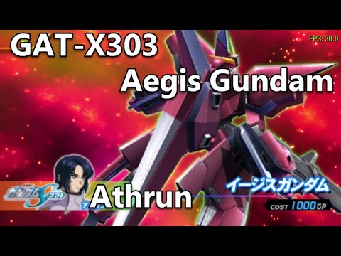 Mobile Suit Gundam: Gundam vs. Gundam: GAT-X303 Aegis Gundam - Another Stage