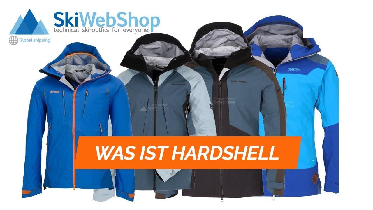 Was ist Hardshellkleidung?