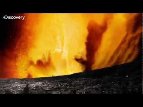 Volcano on Jupiter's moon
