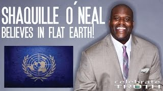 Shaquille O'Neal Believes The Earth is Flat 🏀 NBA Goes Flat Earth!