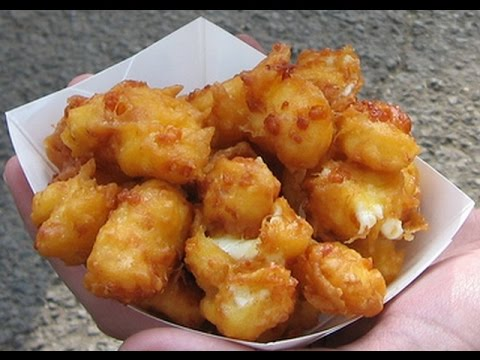 How to make cheese curds recipe/How to make cheese curds fried