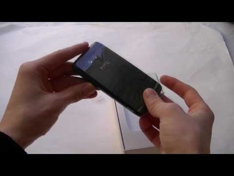 English: HTC 7 Trophy unboxing