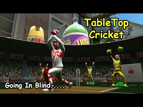 Table Top Cricket - Going In Blind