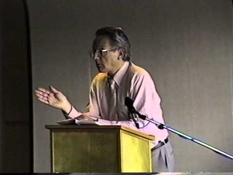 George Stanley reads at Capilano College in 1996