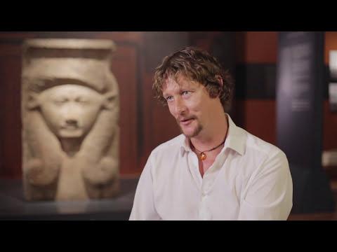 Archeologist Iain Shearer