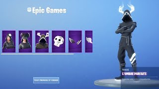 THE NEW PACK EVEIL OF OMBRES on FORTNITE.
