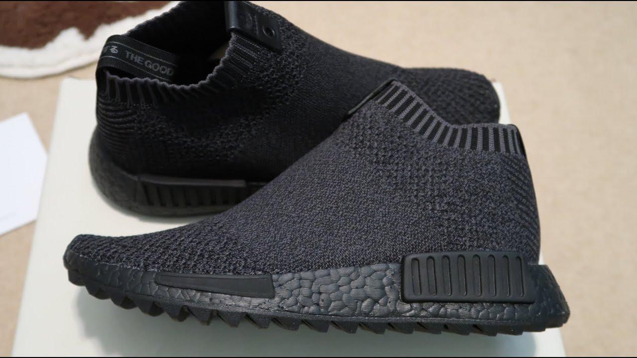 check out 17fbf cc5a7 TGWO x Adidas NMD CS1 Primeknit 'Ankoku Toshi Jutsu' Sneaker Unboxing