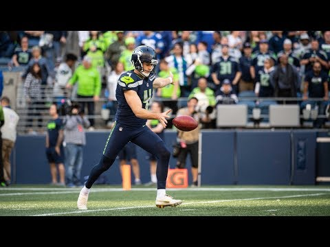 Seahawks rookie punter working on 60-yard dropkick field