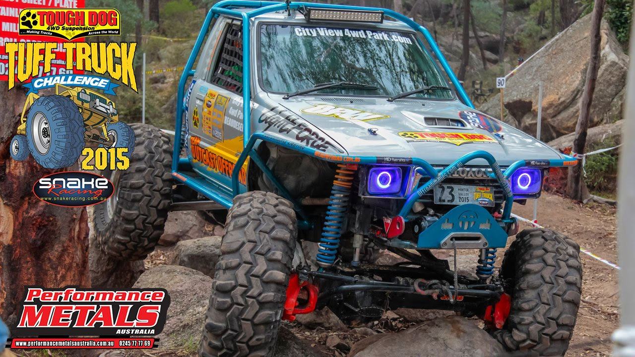 Tuff Truck Challenge 2015 - 'Team Outcast Offroad' on Mini ...