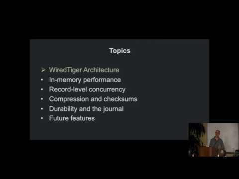 Keith Bostic - WiredTiger [The Databaseology Lectures - CMU Fall 2015]