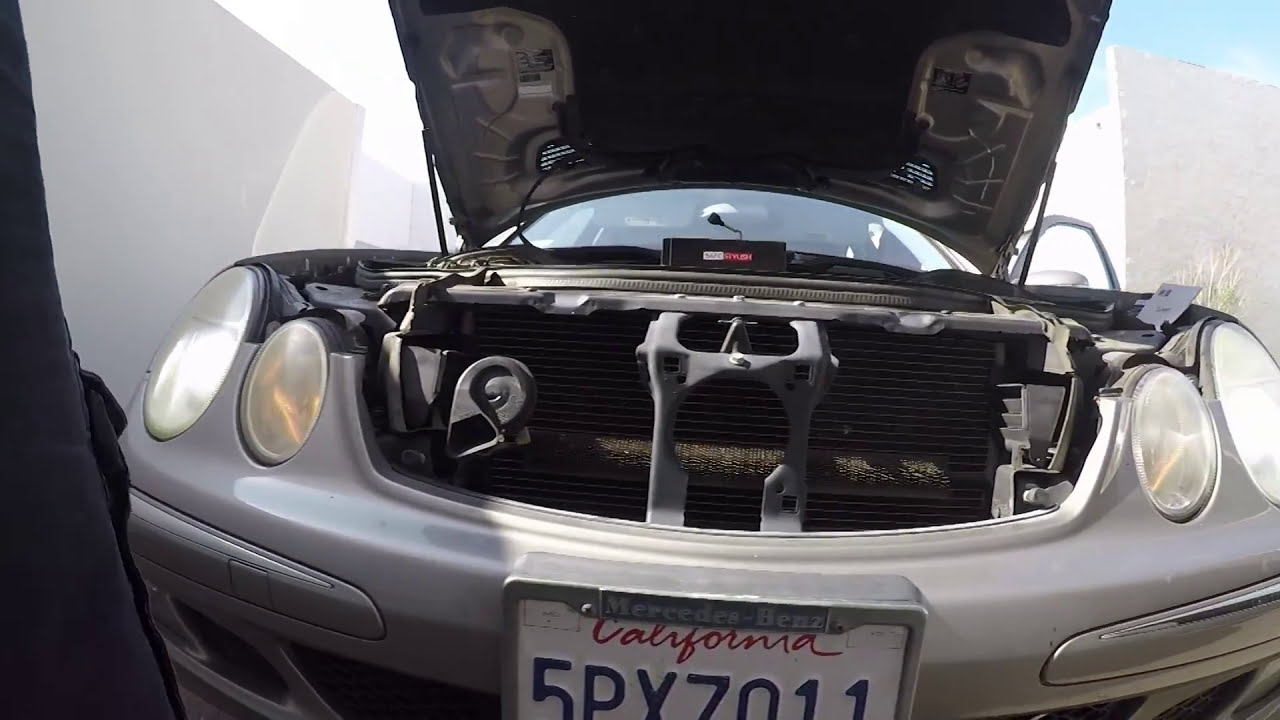 New Lasfit Custom H7 Led Kit Installed In 2006 Mercedes E350 Youtube Wiring Harness Clip Holder
