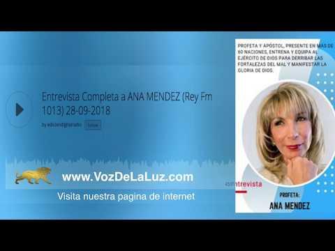 Radio Argentina entrevista a la profeta Ana Méndez Ferrell