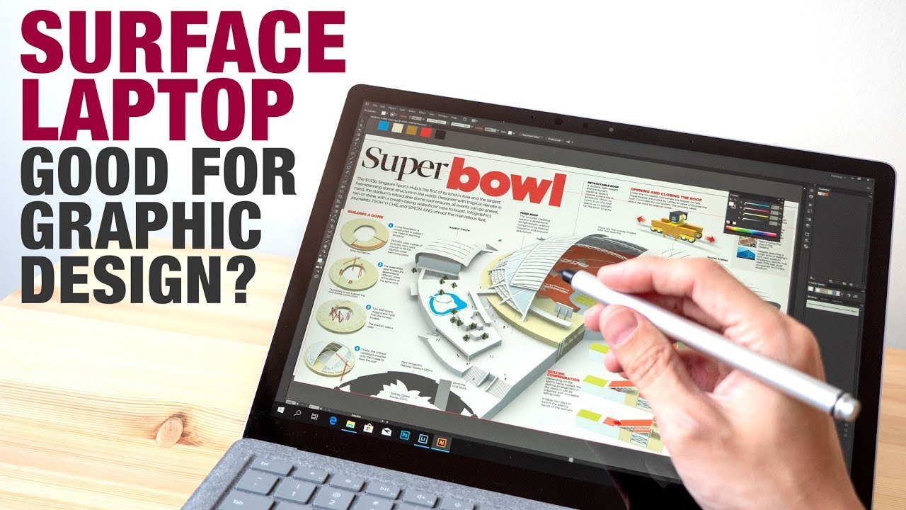 Review: Surface Laptop for Graphic Design, Photo Editing