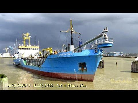trailing suction hopper dredge HEGEMANN 1 DQKQ IMO 9113070 Emden sealock