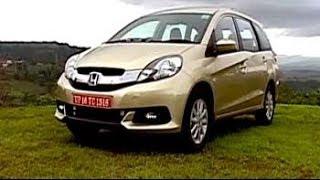 Can Honda's Mobilio take on Maruti Ertigo and Toyota Innova?