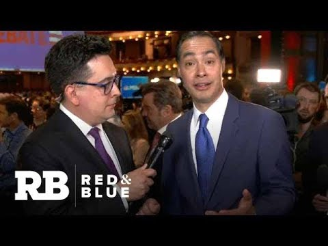 """Julián Castro: """"I earned people's attention and support tonight"""""""