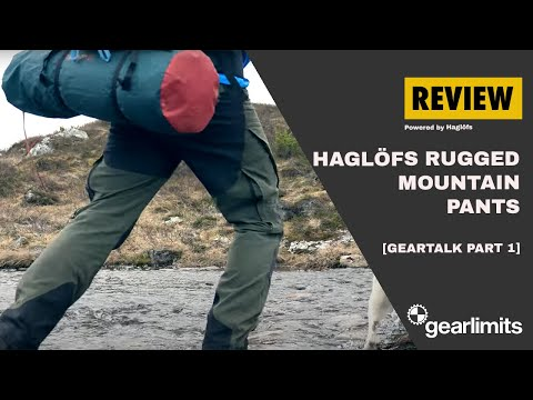 1 Gearlimits Geartalk Review Haglofs Rugged Mountain Pants Youtube