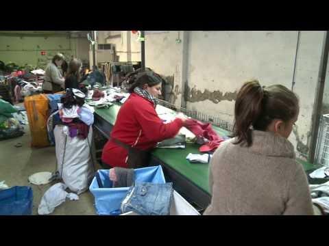 Collecte et traitement des textiles usagés - Tri-Vallées