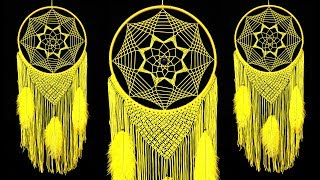Perfect Dreamcatcher | Room decoration ideas | Handmade craft | Diy dream catcher