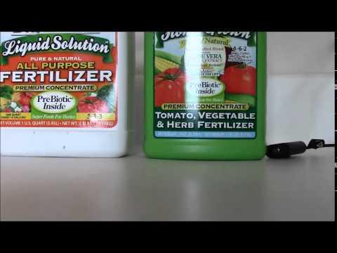 how to make liquid fertilizer