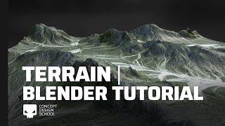 Cómo hacer terrenos y montañas en Blender   Tutorial