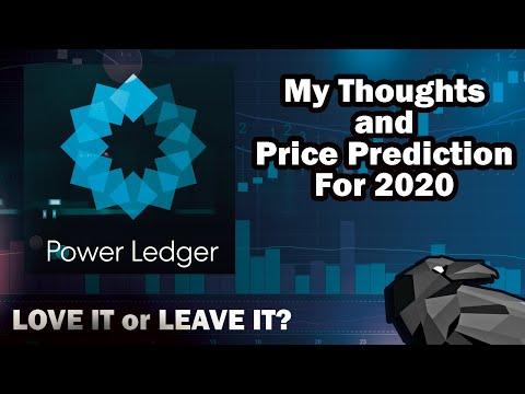 Power Ledger - POWR Price Prediction 2020/2021