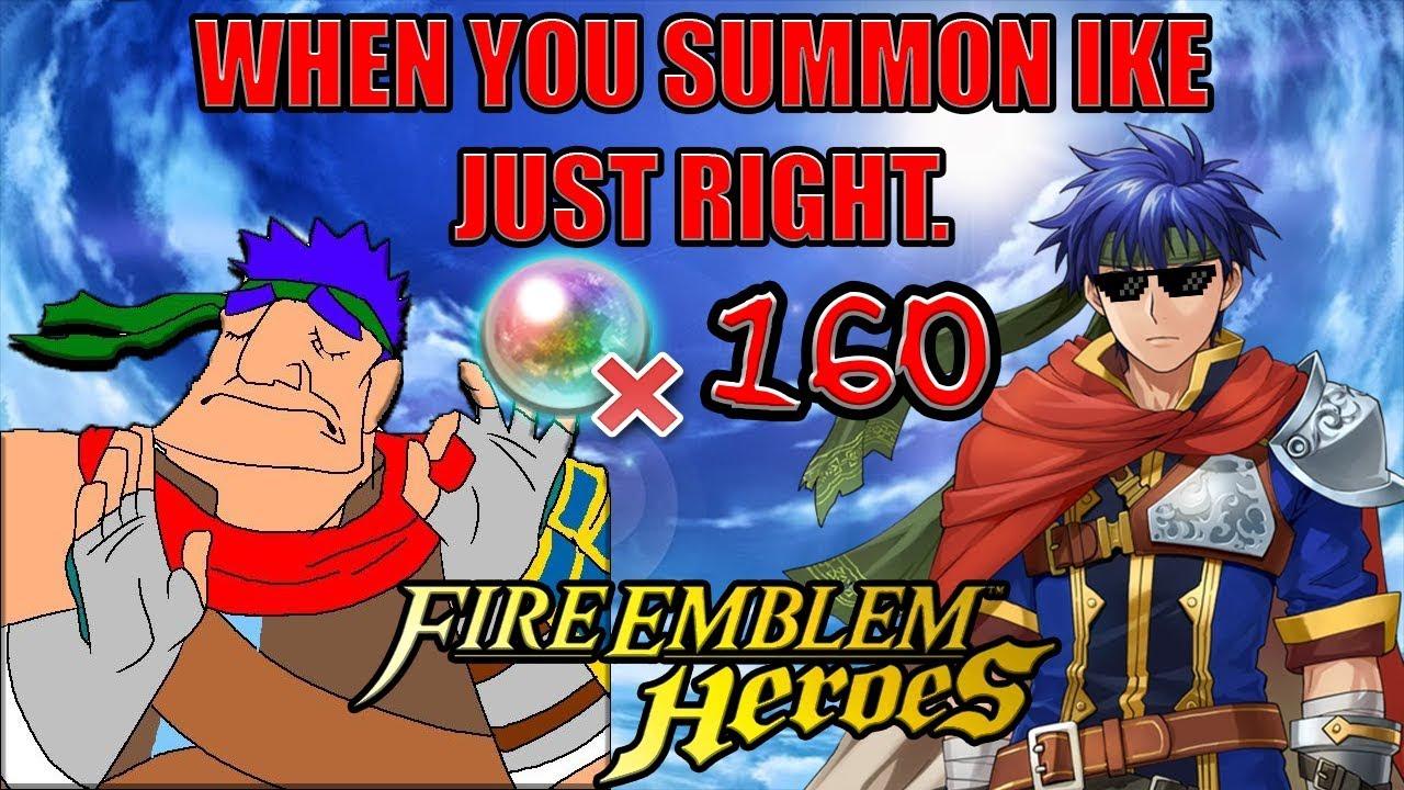 Fire Emblem Heroes: Ike Summons! Hero Fest Banner pt 2