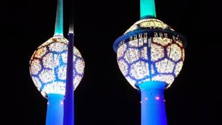 Kuwait Tower Light Show