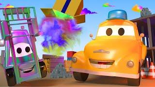 El lavado de Autos de Tom La Grúa: Francis el Montacargas | Dibujos animados para niñas y niños