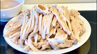 Dạ dày luộc_mẹo xử lý hết nhớt hôi và cách luộc dạ dày trắng giòn hiệu quả_Bếp Hoa